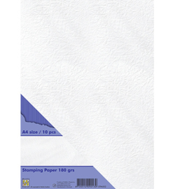 Nellie`s Choice - STPA002 - Stamping Paper White