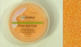 Foamball clay - luchtdrogende klei - warm geel 15gr