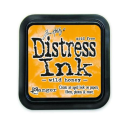 Ranger Distress Inks pad - wild honey stamp pad TIM27201 Tim Holtz
