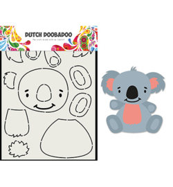 Dutch Doobadoo - 470.713.837 - Card Art Built up Koala