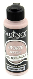 Cadence Hybride acrylverf (semi mat) Poederroze 01 001 0030 0120 120 ml