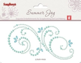 ScrapBerry's Pearls Swirl Summer Joy 1 6,5x12 cm (SCB341501)