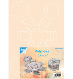 Joy! Crafts - 6005/0010 - Polybesastencil Explosiedoosjes