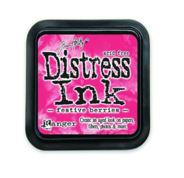 Ranger Distress Inks pad - festive berries TIM32861 Tim Holtz