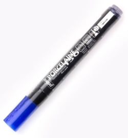 Pebeo, porcelaine stiften, Lapis Blue 1,2 mm punt