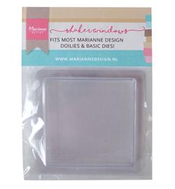 Marianne D LR0024 - Shaker windows – Squares