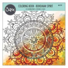 Sizzix Colouring Book - Bohemian Spirit 661531 Lindsey Serata