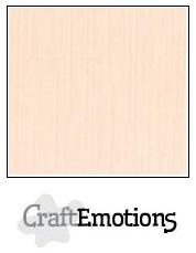 CraftEmotions linnenkarton - crème LHC-17 A4 250gr