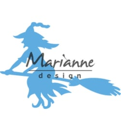 Marianne D Creatables LR0561 - Witch on broomstick