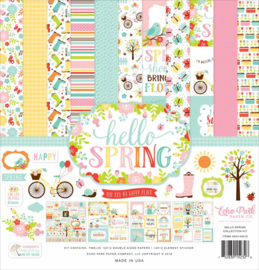 Echo Park Hello Spring 12x12 Inch Collection Kit (HES144016)