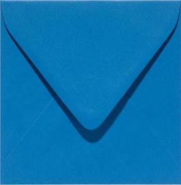 Papicolor Envelop vierk. 14cm donkerblauw 105gr-CV 6 st 303906 - 140x140 mm