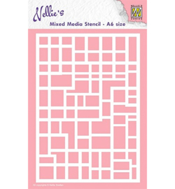 Nellie`s Choice MMSA6-008 - Rectangles