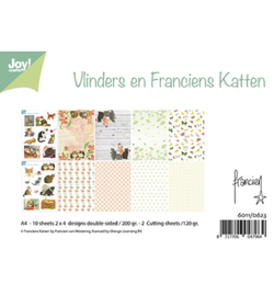Joy! Crafts - 6011/0623 - Design - Franciens Katten en Vlinders