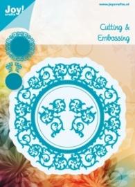 Cutting & Embossing stencil cirkel (4st)