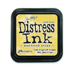 Ranger Distress Inks pad - scattered straw stamp pad TIM21483 Tim Holtz