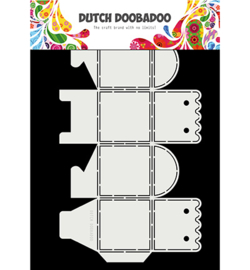 Dutch Doobadoo - 470713060 - Dutch Box Art scallop