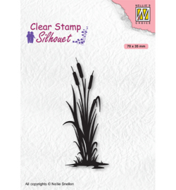 Nellie`s Choice - SIL077 - Silhouettes Bulrushes-2