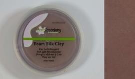 Silk foam clay - luchtdrogende klei - bruin 15gr