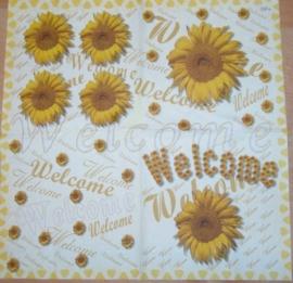"""Zonnebloem """"Welcome"""""""