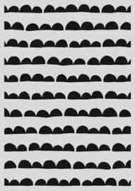 Pronty Mask stencil - Scallop streep 470.803.034 A4