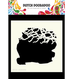 Dutch Doobadoo Mask Art Tree Branches