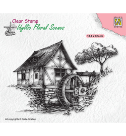 Nellie`s Choice - IFS028 - Idyllic Floral Scenes Water-mill