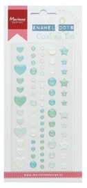 Marianne D Decoration Enamel dots - Cold as ice PL4511