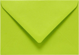 Papicolor Envelop C6 appelgroen 105gr-CV 6 st 302967 - 114x162 mm