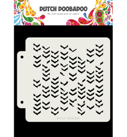 Dutch Doobadoo - 470.715.155 - DDBD Dutch Mask Grunge Chrevrons