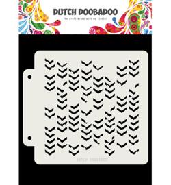 Dutch Doobadoo - 470.715.155 - DDBD Dutch Mask Grunge Chrevrons