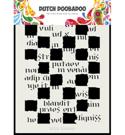Dutch Doobadoo - 470.715.162 - DDBD Dutch Mask Art Script Blocks