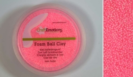 Foamball clay - luchtdrogende klei - roze 15gr