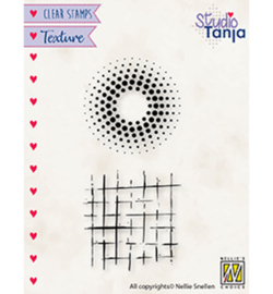 Nellie`s Choice - TXCS024 - Dots & squares