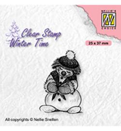 Nellie`s Choice - WT005 - Shy snowman