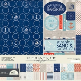 Collection Kit - Authentique Seaside 12x12 Inch - (SEA119)