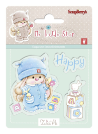 ScrapBerry's Bunny My Little Star - Set of stamps (7*7cm) - Bunny Birthday