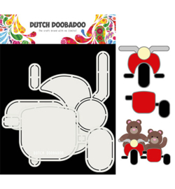 Dutch Doobadoo - 470.713.813 - DDBD Card Art Motor en zijspan set
