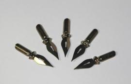 Kroontjespennen - 5 stuks (voor 320600/0960 en 320600/0970)