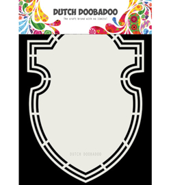 Dutch Doobadoo -  470.713.204 - Dutch Shape Art Shield