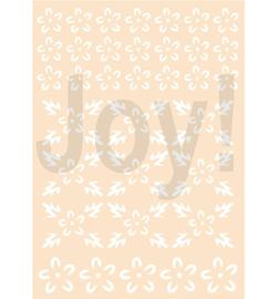 Joy! Crafts - 6002/0884 - Bloemen-achtergrond