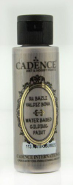 Cadence Gilding Metallic acrylverf Antiek zilver 01 035 0113 0070 70 ml