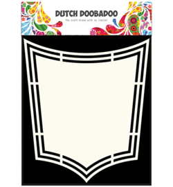 Dutch Doobadoo Shape Art Shield