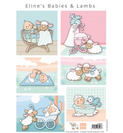 Marianne D Knipvel AK0085 - Eline's babies & lambs