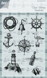 Clear stamps - At the sea