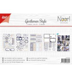 Noor! Design - 6011/0420 - Gentlemen Style