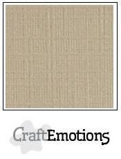 CraftEmotions linnenkarton lever 27x13,5cm 250gr