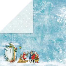 "Craft & You - White Christmas - 3 (12""x 12"")"