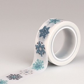 Echo Park Hello Winter Decorative Tape Snowflakes (HW95027)