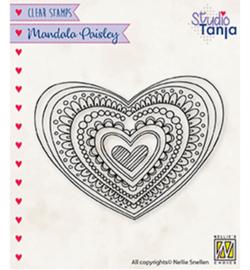 Nellie`s Choice - CSMAN012 - Mandala's Paisley heart