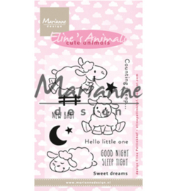 Marianne D EC0175 - Eline's Cute Animals - Sheep